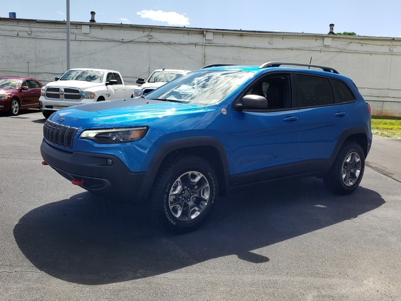 New 2020 JEEP Cherokee Trailhawk 4dr 4x4