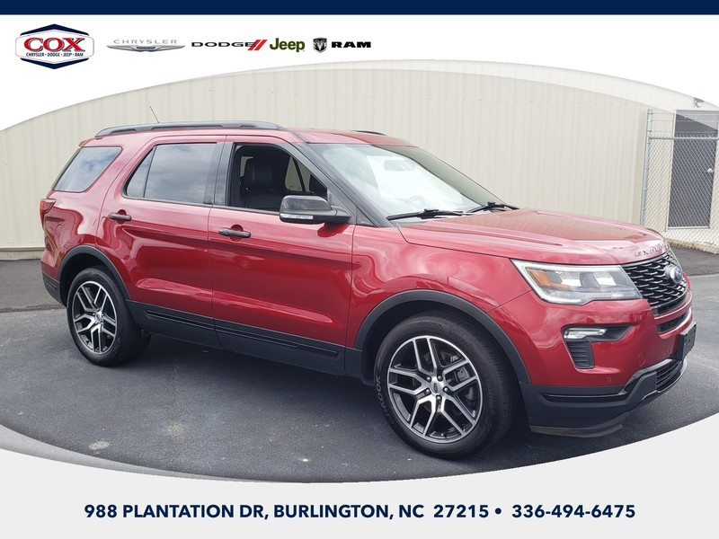 Pre-Owned 2019 Ford Explorer Sport 4dr 4x4