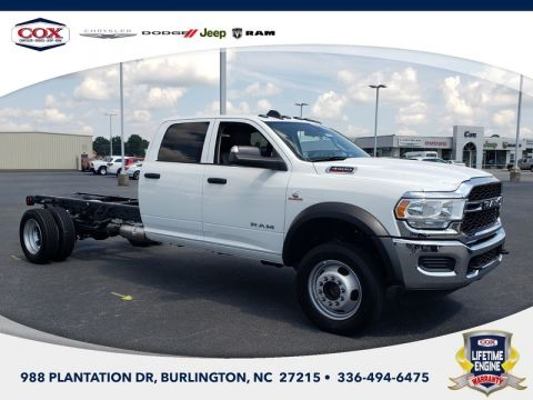New 2020 RAM 4500 Chassis Cab Tradesman/SLT/Laramie/Limited 4x4 Crew Cab 197.4 in. WB